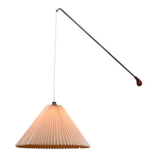 Swiveling and Height-Adjustable Danish Wall Lamp, 1960s For Sale