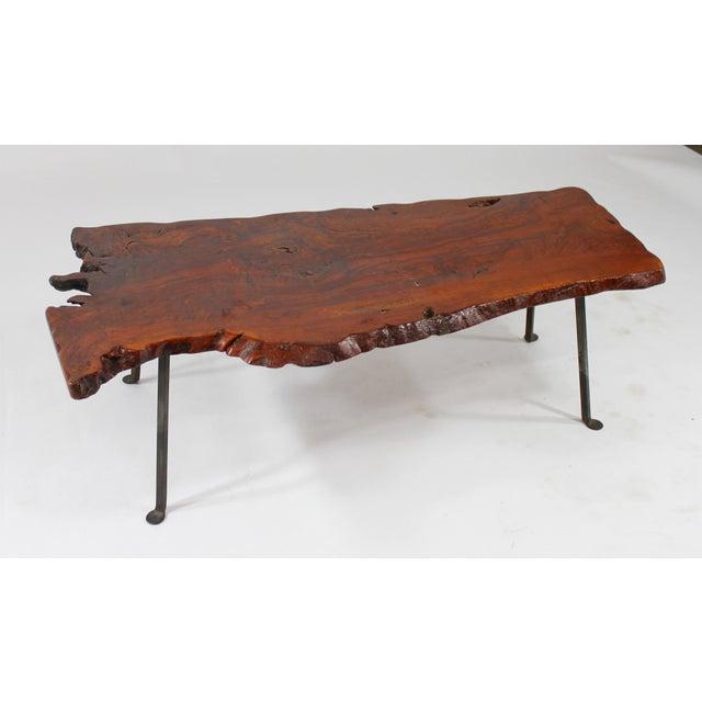 Live Edge Redwood Coffee Table