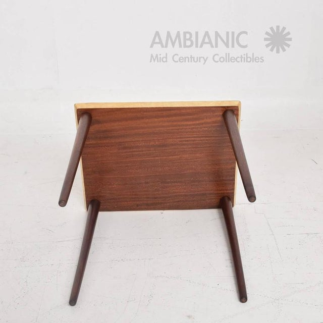 1950s Italian Mid-Century Aldo Tura Side Table For Sale - Image 5 of 8