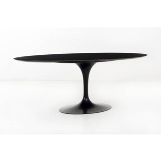 Eero Saarinen Black Granite Tulip Table Preview