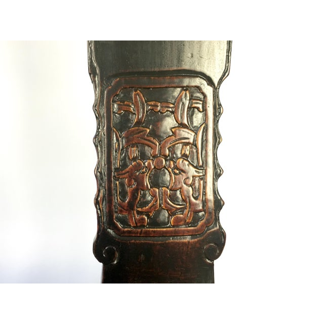 Antique Rosewood Chinese Official's Chairs - Pair For Sale In Buffalo - Image 6 of 9