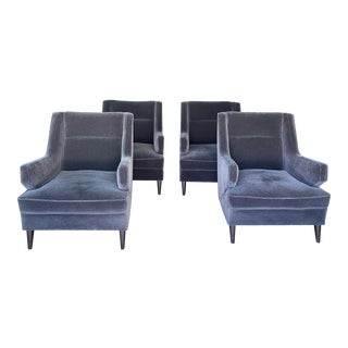 Benjamin Club Chairs - Set of 4 For Sale