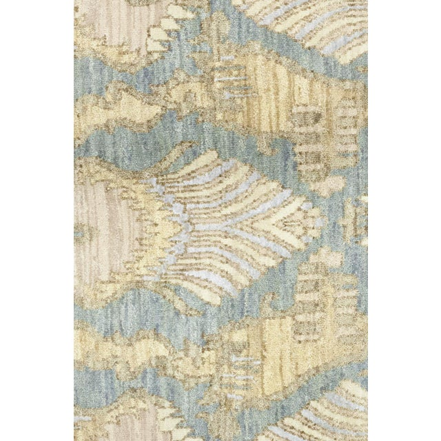 "Boho Chic Bohemian Hand-Knotted Area Rug 8' 2"" x 10' 1"" For Sale - Image 3 of 4"