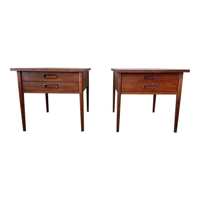 Jack Cartwright End Tables for Founders - A Pair For Sale