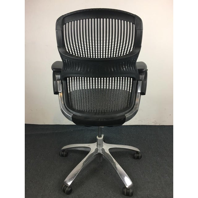 Knoll 'Generation' Metal & Plastic Office Chair - Image 4 of 8
