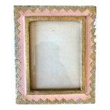 Image of Vintage Pink Gold Florentine Picture Frame For Sale