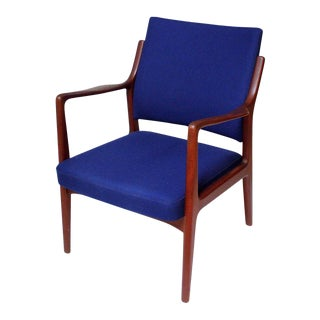 1960s Swedish Modern Teak Lounge Chair