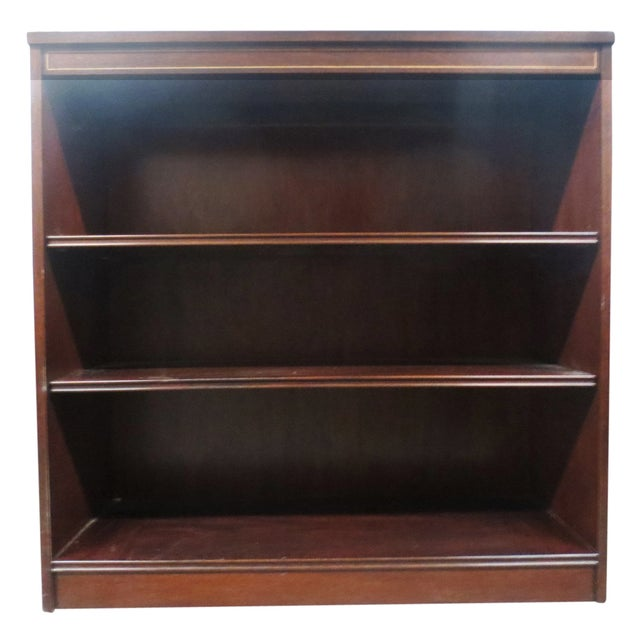 Inlaid Mahogany Bookcase - Image 1 of 5