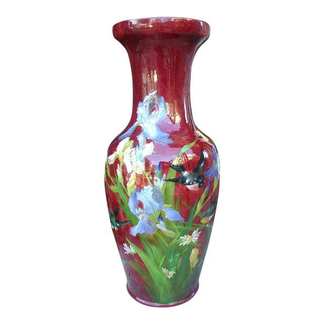 Antique Grande 'Bourg La Reine' Vase For Sale