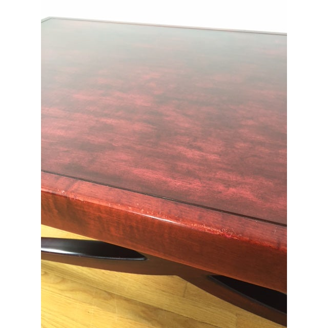 1990s Modernist Art-Deco-Inspired Dialogica Coffee Table   Chairish