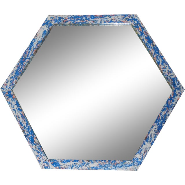 Artistic Six Sided Mirror - Image 1 of 11