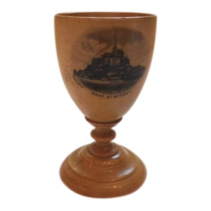 Mauchline Ware Egg Cup For Sale