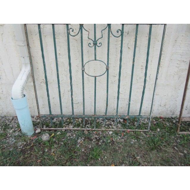 Antique Victorian Iron Gate - Image 5 of 8