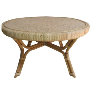 Selamat Tadar Rattan Coffee Table