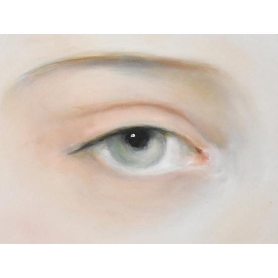 Susannah Carson Contemporary Lover's Eye Painting by Susannah Carson For Sale - Image 4 of 5