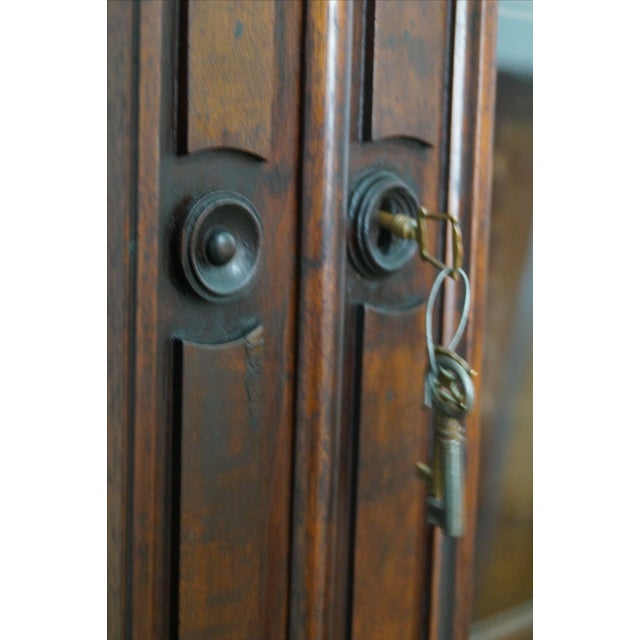 Victorian Walnut Cylinder Roll Secretary Desk - Image 7 of 10