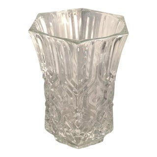 Genuine Lead Crystal Vase For Sale