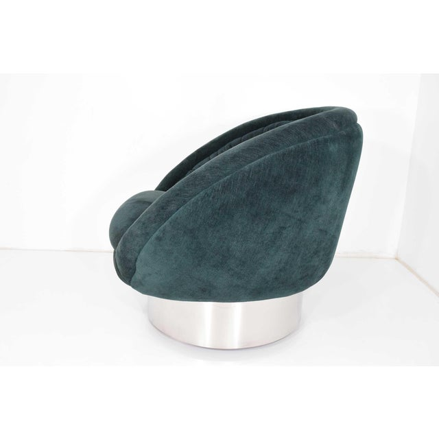 Vladimir Kagan Vladimir Kagan Crescent Chair For Sale - Image 4 of 10