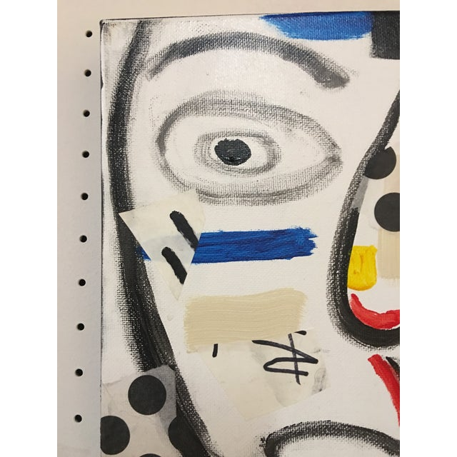 "Phyllis Rinaldi ""II Primary Man"" Original Painting on Canvas - Image 4 of 6"