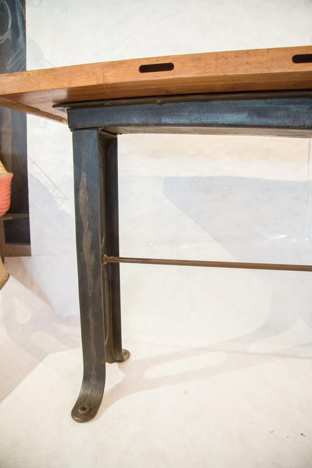 Industrial Work Table Counter For Sale   Image 4 Of 5