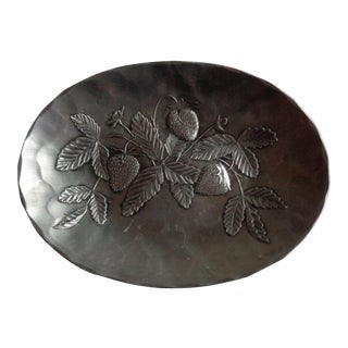 Vintage Wendell August Strawberry Tray