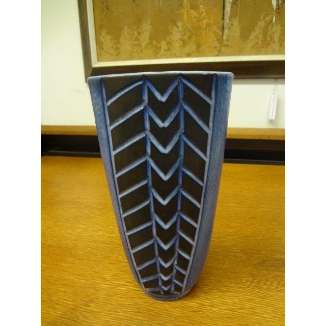 Norwegian Studio Ceramic Vase - Image 2 of 6