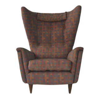 1950s Wingback Chair For Sale