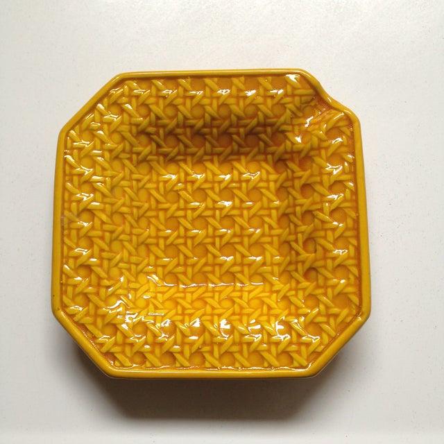 Yellow Italica Ars Cane Ashtray - Image 4 of 7
