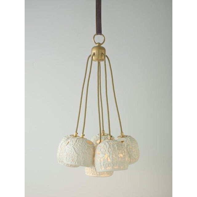 Modern Basin Chandelier by Lowland Studio For Sale - Image 3 of 3