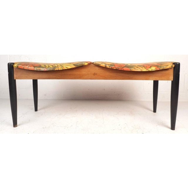 Country John Stuart Mid-Century Window Bench For Sale - Image 3 of 8