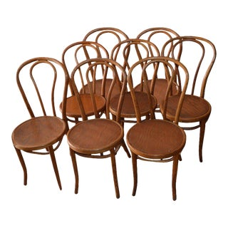1947 Bentwood Dining Chairs - Set of 8