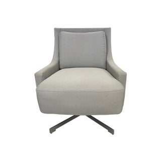 Barbara Barry for Hbf Swivel Lounge Chair For Sale