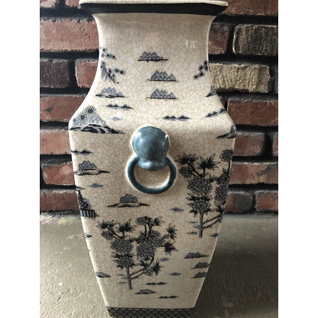 Asian 1990s Asian Inspired Vase For Sale - Image 3 of 6