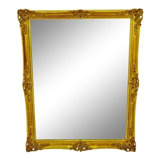 Vintage j.b. Van Sciver Gold Gilt Wall Mirror For Sale