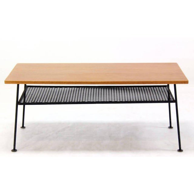 Mid-Century Modern Coffee Table by Mattieu Mategot For Sale - Image 4 of 8