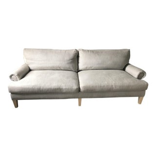 Contemporary Light Gray Upholstered Lee Sofa