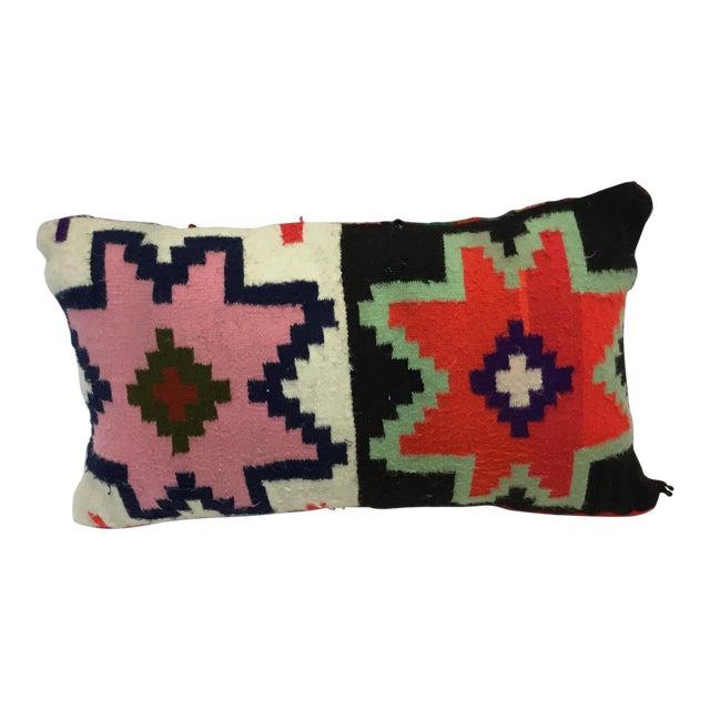 Tunisian Handmade Kilim Pillow - Image 1 of 3