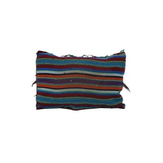 """Vintage Boho Chic Moroccan Pillow - 22""""x15"""" For Sale"""