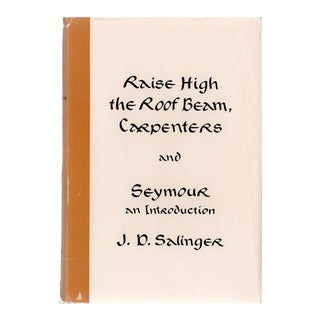 "1959 ""Raise High the Roof Beam, Carpenters, and Seymour"" Collectible Book For Sale"