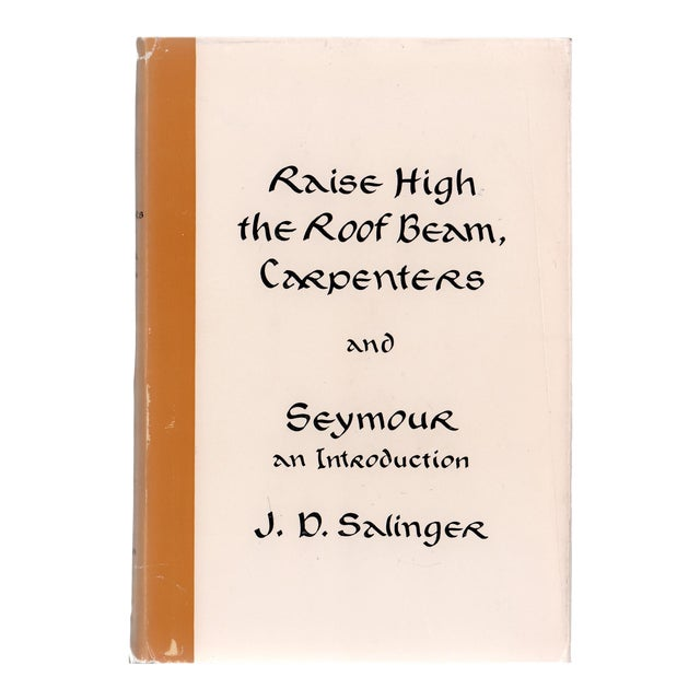 """1959 """"Raise High the Roof Beam, Carpenters, and Seymour"""" Collectible Book For Sale"""