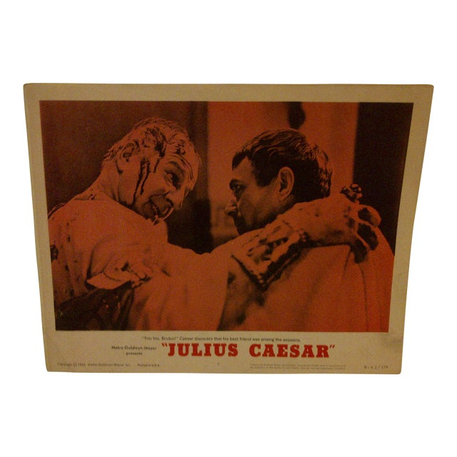 "MGM's ""Julius Caesar"" 1962 Vintage Movie Poster For Sale"