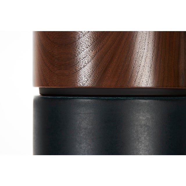 Hancock in Night Glaze With Walnut Cap - a Pair For Sale In New York - Image 6 of 7