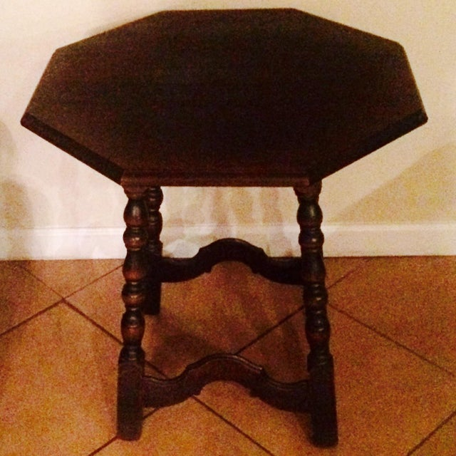 Vintage Imperial Side Table - Image 2 of 7