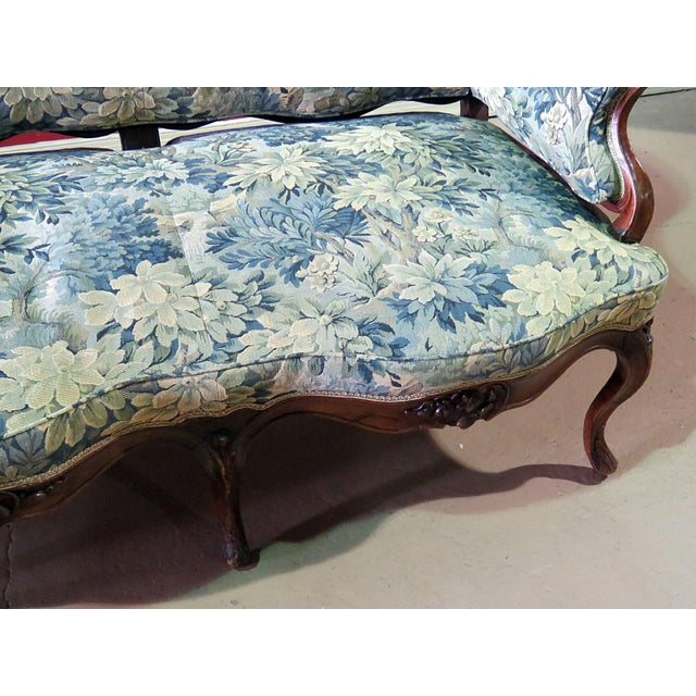 Antique Louis XV Style Sofa For Sale In Philadelphia - Image 6 of 12