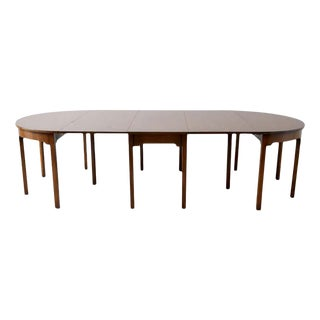 Kittinger Georgian Style Mahogany Banquet Dining Table For Sale