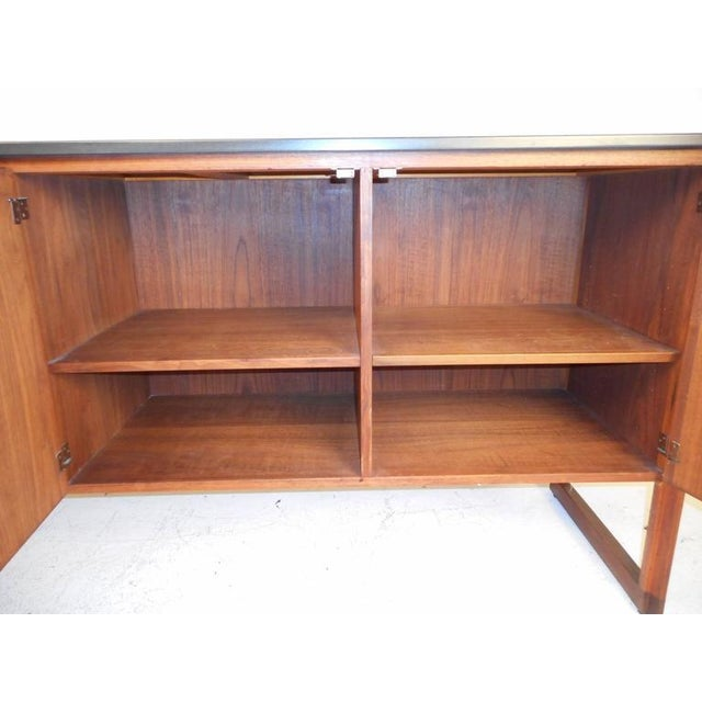 Jens Risom Mid-Century Marble Top Sideboard For Sale - Image 5 of 9