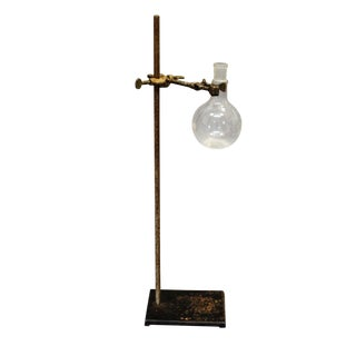 Vintage Pharmacy Glass With Stand For Sale