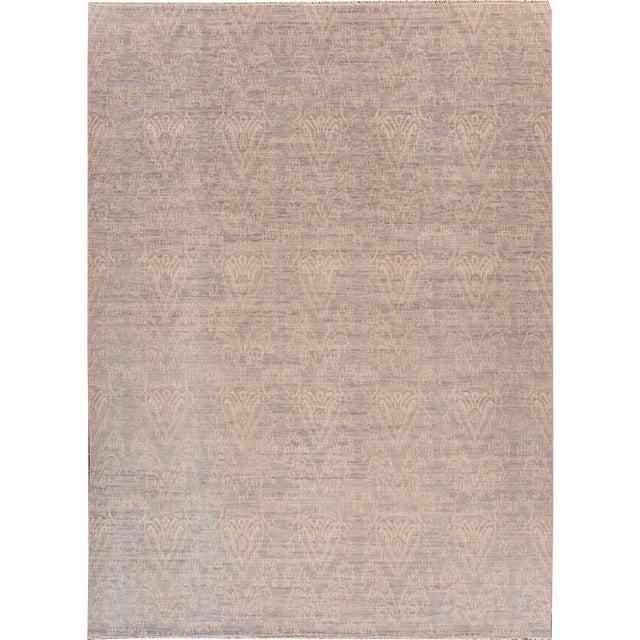 """Modern Oushak Rug- 10' x 13'9"""" - Image 1 of 7"""