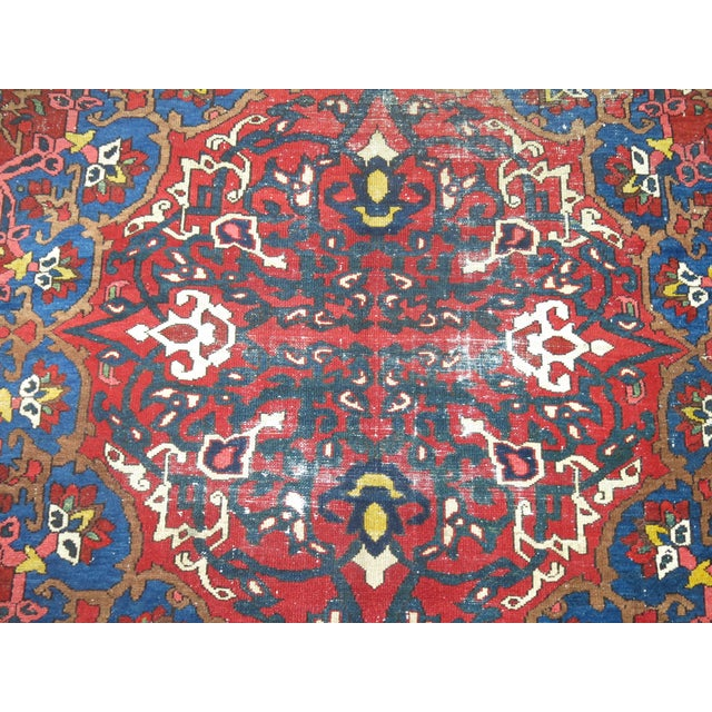 Antique Persian Bakhtiari Rug - 12'3'' X 18'2'' - Image 4 of 9