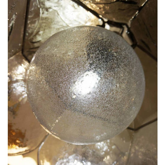 1960s Large Carlo Nason for Mazzega Chandelier For Sale - Image 5 of 5